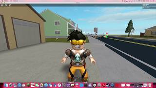 $100R Chalenge! We're trying to make Tracer (overwatch) in ROBLOX!
