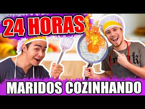 24 HORAS MARIDOS COZINHANDO PARA A FAMÍLIA | Blog das irmãs