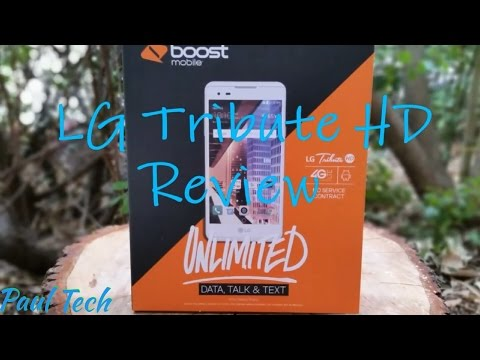 LG Tribute HD Boost Mobile Full Review