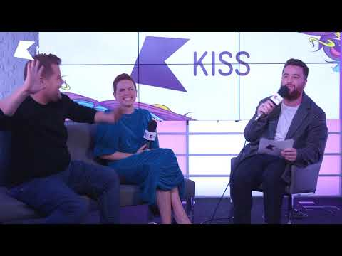 Daisy Ridley & James Corden Talk Pub Fights, Junk Food and Peter Rabbit | Tom On KISS