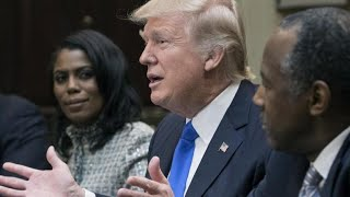 Omarosa's feud with Trump heats up after she reveals taped conversations