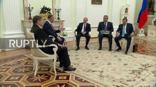 Russia: Settling Transnistrian conflict 'very sensitive issue', Putin tells Moldova's Dodon