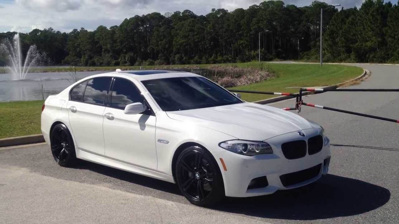 2013 Bmw 535i M Sport W Matte Black M5 Wheels Hd Youtube