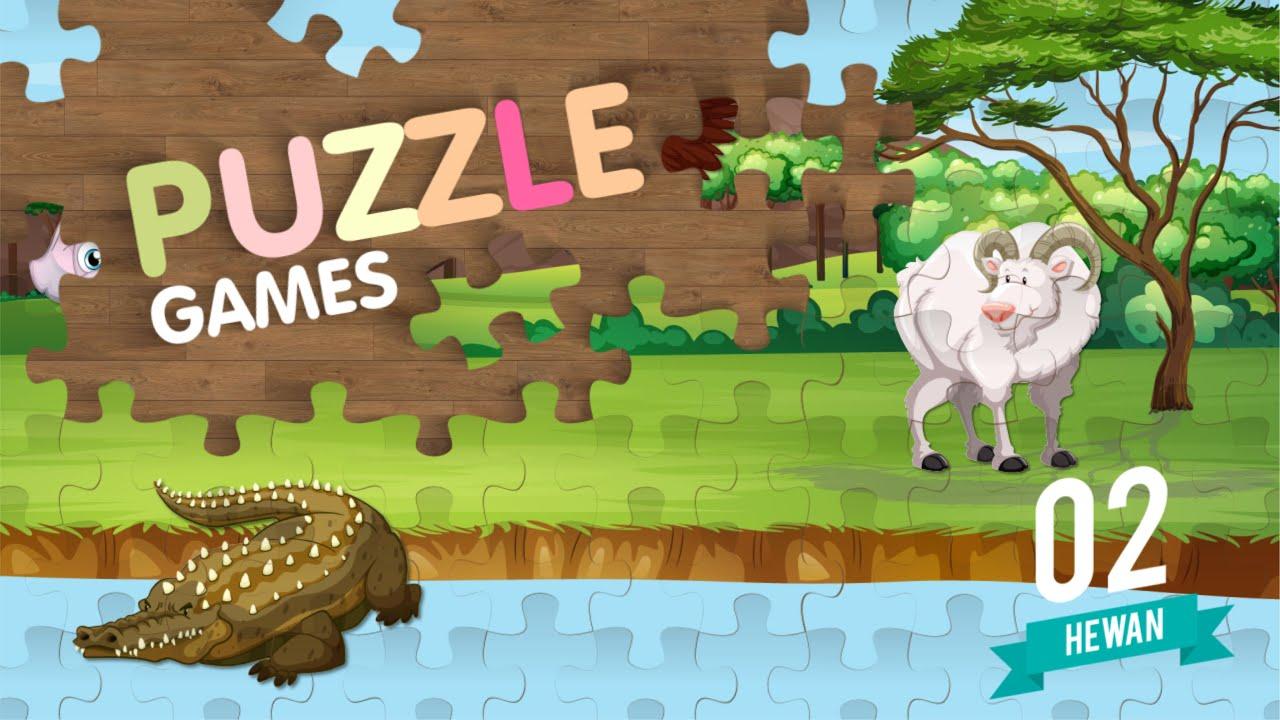 Game Belajar mengenal nama Hewan menggunakan Animasi lucu ...