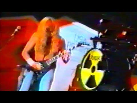 Megadeth - Düsseldorf 11.03.1991