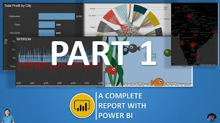 Creating Power BI Report - YoY Comparison of Many Elements - Part1