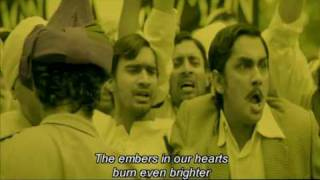 Rang De Basanti - Youth Takes Oath To Fight Back - Aamir Khan - Soha Ali Khan