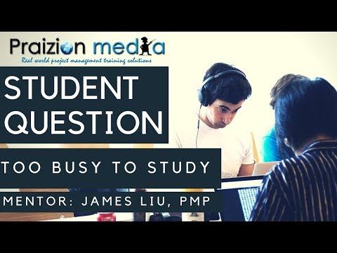 Student Question   I am overwhelmed in my Job how can I study?