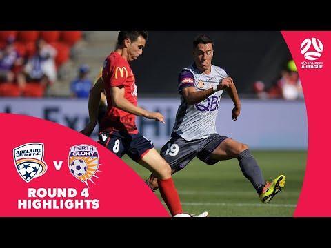 Hyundai A-League 2018/19 Round 4: Adelaide United 0 - 2 Perth Glory Highlights