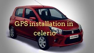 GPS Tracker for celerio and gps tracker installation in car Celerio