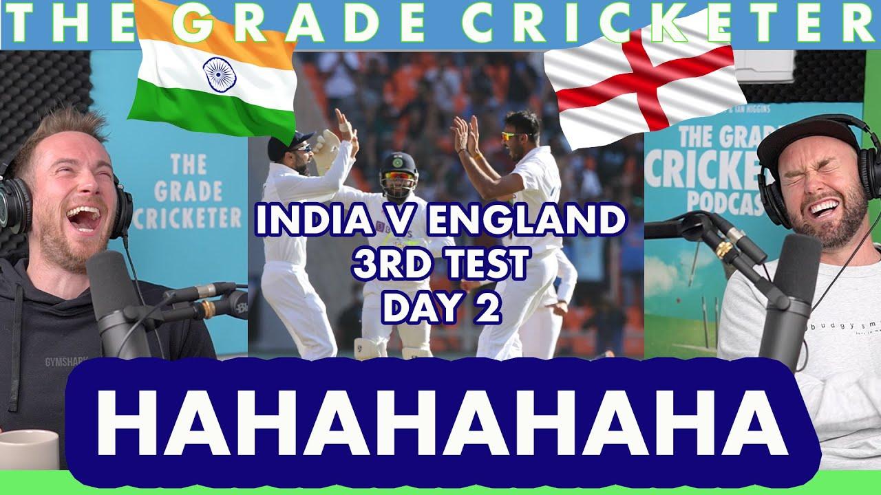 India v England | 3rd Test, Day 2 | HAHAHAHAHAHA
