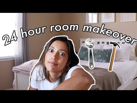 24 HOUR ROOM MAKEOVER