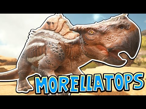 Ark: Scorched Earth! - TAMING A MORELLATOPS! [#3] |Scorched Earth Gameplay|