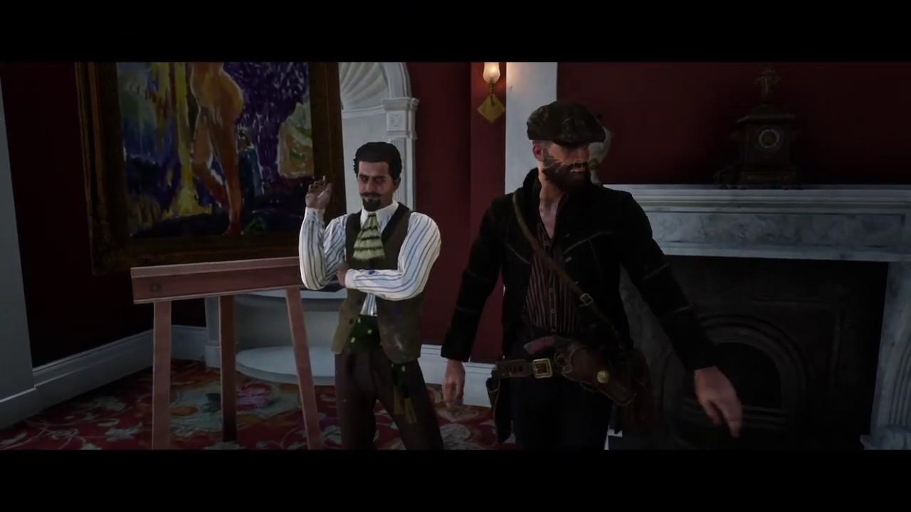 Red Dead Redemption 2_strangers Marko dragic