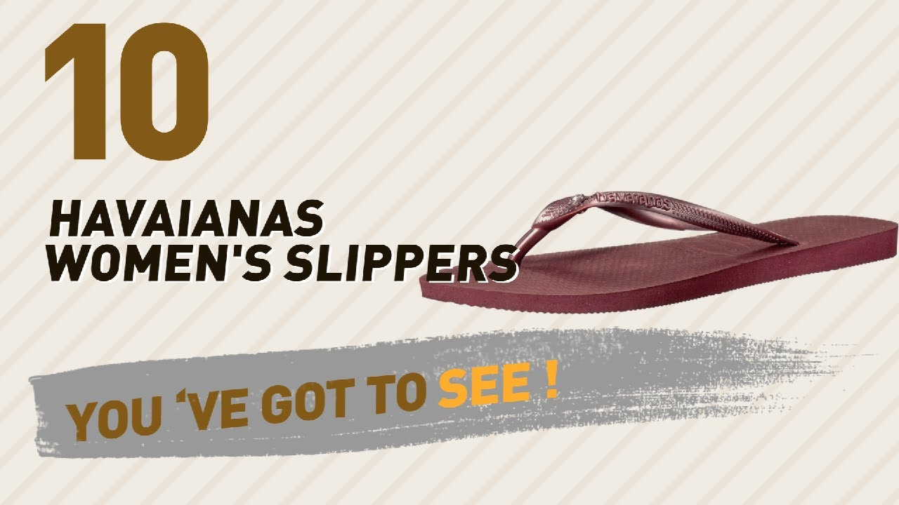 cb89622c380af Havaianas Women s Slippers    New   Popular 2017 - YouTube