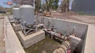 إعادة تأهيل شبكات ضخ المياه بعدن