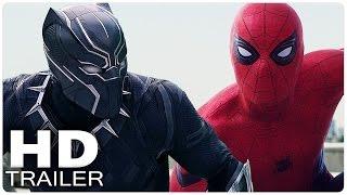 captain america 3 civil war alle trailer german deutsch   the first avenger   marvel film 2016