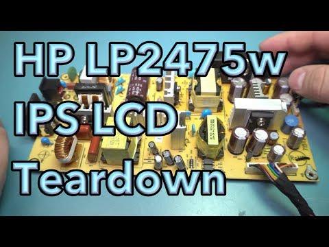 HP LP2475w IPS LCD Teardown