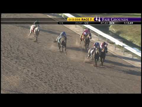 Race Replay: The 2018 Silverbulletday Stakes at Fair Grounds