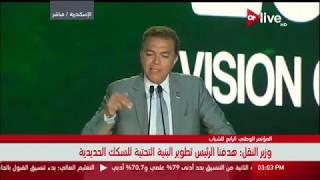 فيديو.. وزير النقل: لأول مرة 5 كبارى على النيل تعمل بشكل جيد