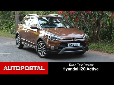 Hyundai i20 Active Test Drive Review - Autoportal