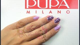 Nail art by Pupa effetto gel con ghirigori Thumbnail
