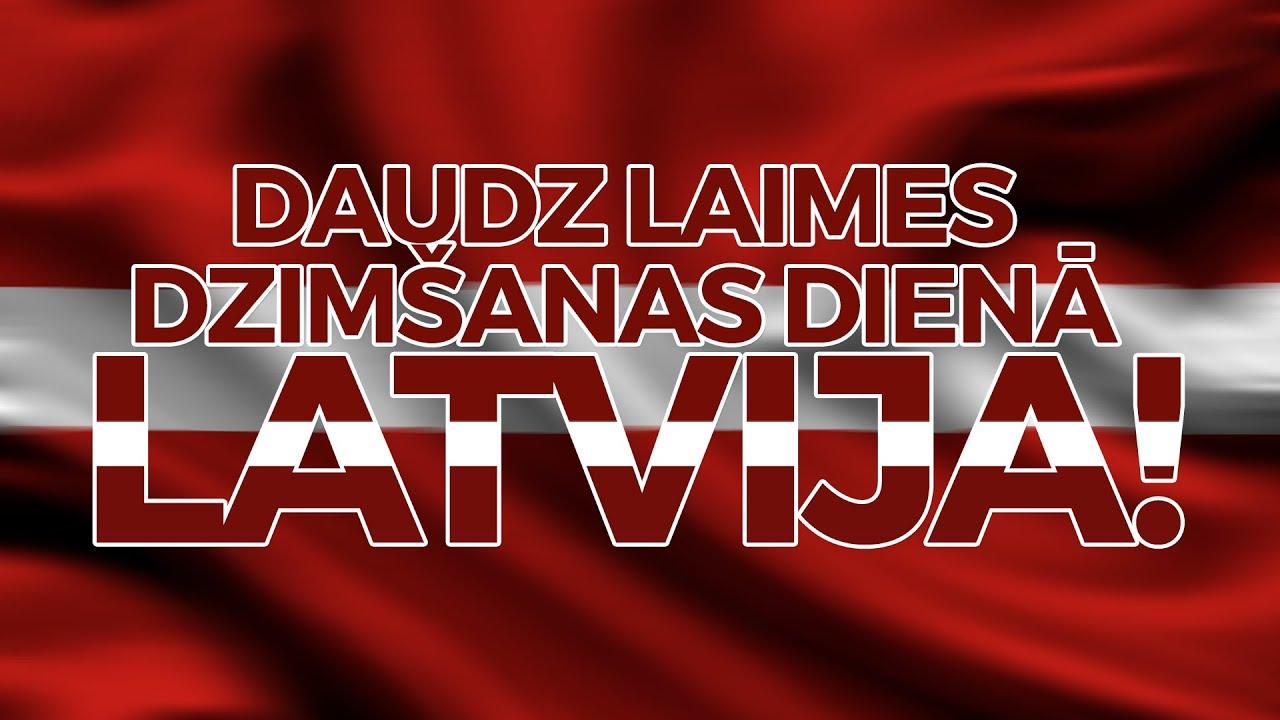 """Attēlu rezultāti vaicājumam """"sveiciens latvijai dzimšanas dienā"""""""