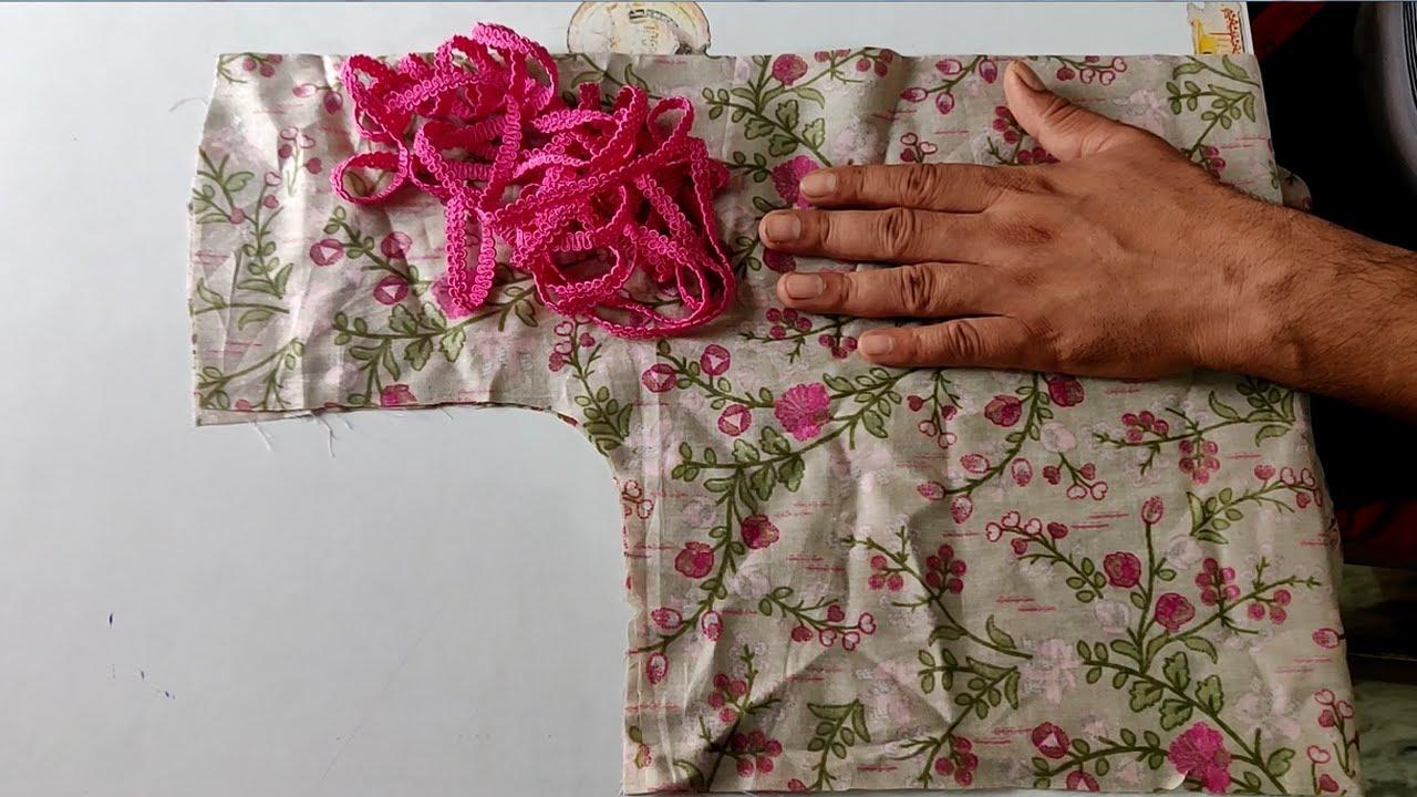 प्रिंटिड कपडे में बनाएं कुर्ती का सबसे सुन्दर और आसान डिजाइन || New Latest Design For Kurti