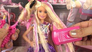 Poupée Barbie Coiffure Boucles et Couleurs | DYI Crimp & Curl thumbnail