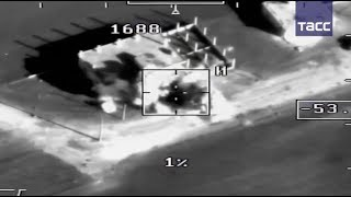 Кадры уничтожения боевиков в Сирии