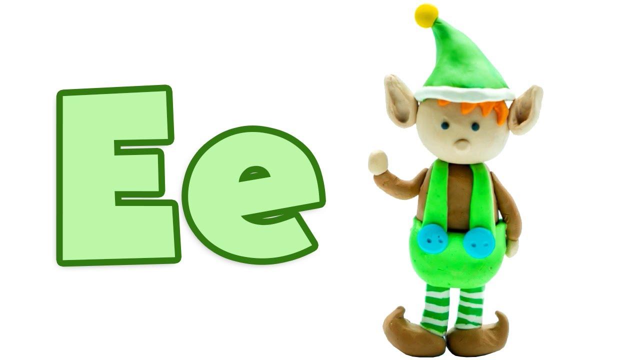 "Phonics - The Letter ""E"" | Vowel Sounds | Learn the Alphabet | Pocket Preschool"