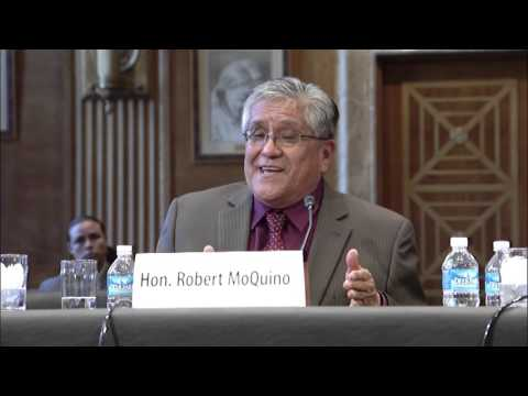 Tom Speaks at a Senate Indian Affairs Hearing on Bills to Improve Education in Indian Country