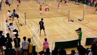 學界羽毛球D1決賽 DBS vs LSC part3