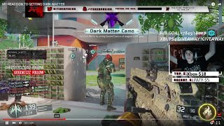 WE GOT DARK MATTER THE GAME I GOT IT! (BO3 Dark Matter)