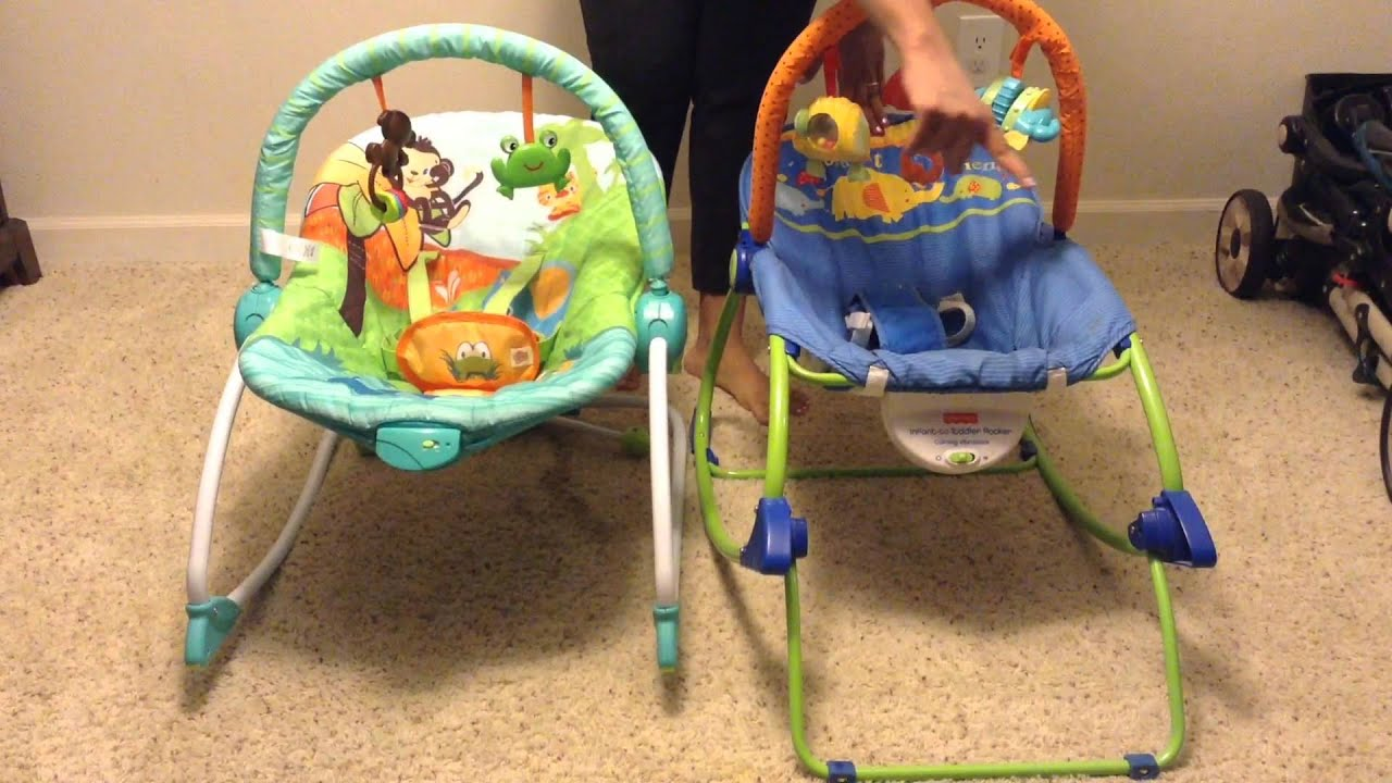 9d86a22b0 Bright Starts Baby to Big Kid Rocker Review - YouTube