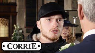 Tyler Demands to Know What Robert Has Done to Vicky | Coronation Street