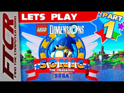 """'Lego Sonic The Hedgehog' Let's Play - Part 1: """"Like A Lego House, This Game Breaks Real Easily..."""""""