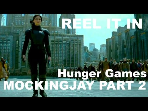 THE HUNGER GAMES: MOCKINGJAY PART 2 Movie Review- REEL IT IN