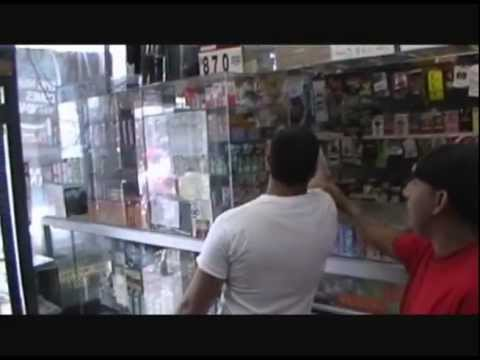 Ghetty Square Yonkers, NY  Store Gets Trashed!