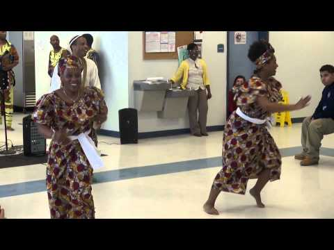 MUNTU performance at West Town Academy 02/24/2014 part 1 HD
