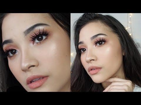 Makeup Tahan Lama Untuk Kulit Berminyak // Matte, Long Lasting Makeup for Oily Skin