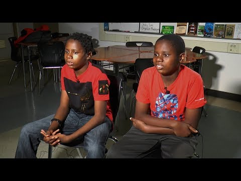 Twins with autism keep on dancing