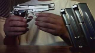 pistola  pietro beretta 84fs cheetah 380  9mm