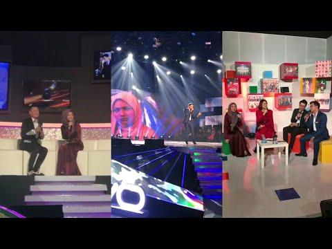Neelofa & Alif Satar di Final AF Megastar sambil promote drama Red Velvet