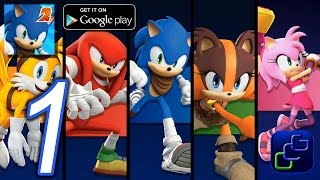 Sonic Dash 2: Sonic Boom Android iOS Walkthrough - Gameplay - All Characters