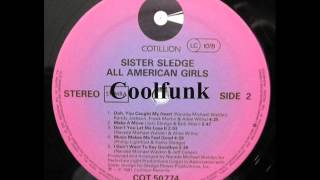 Sister Sledge - Music Makes Me Feel Good (Disco-Funk 1981)
