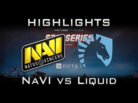 NaVi vs Liquid - New Roster Debut!  Starladder i-League 2017 Highlights Dota 2