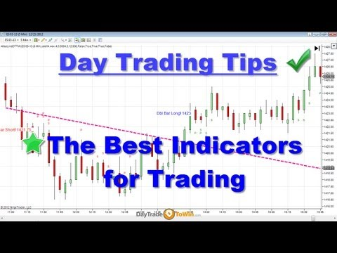 Day Trading Tips - The Best Indicators for Day-Trading