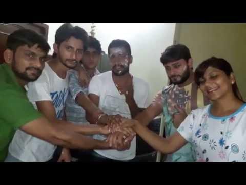 Binder Danoda's birthday celebration with pooja...