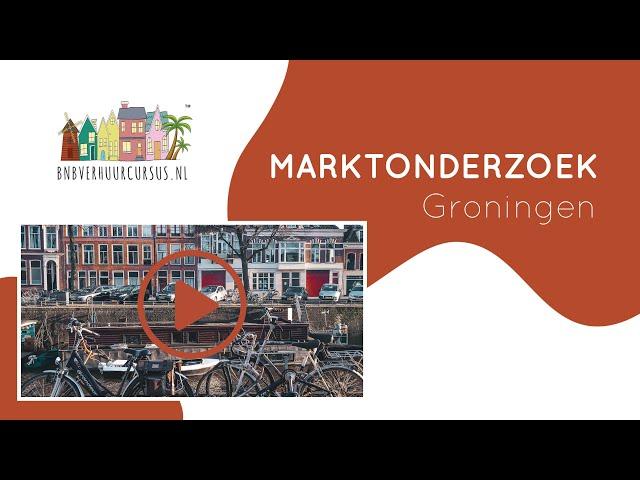 Marktonderzoek Groningen